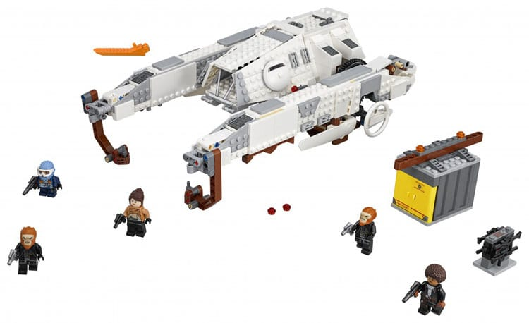 LEGO Star Wars 75219 Imperial AT Hauler 2