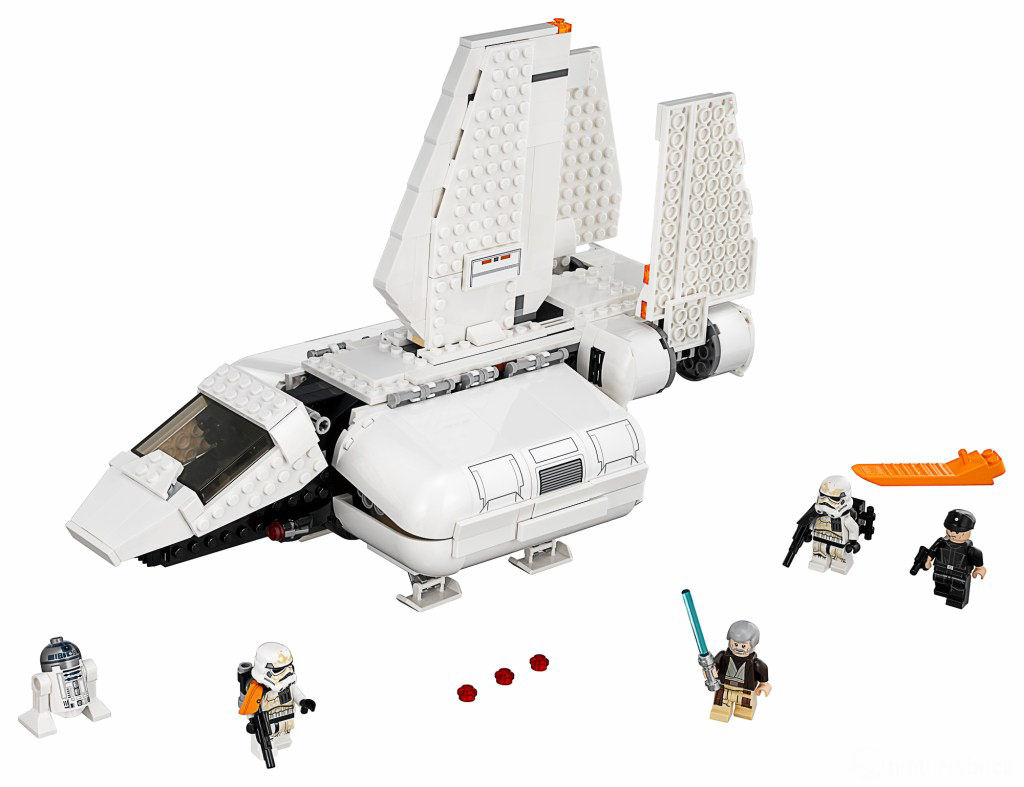 LEGO Star Wars 75221 Imperial Landing Craft 3
