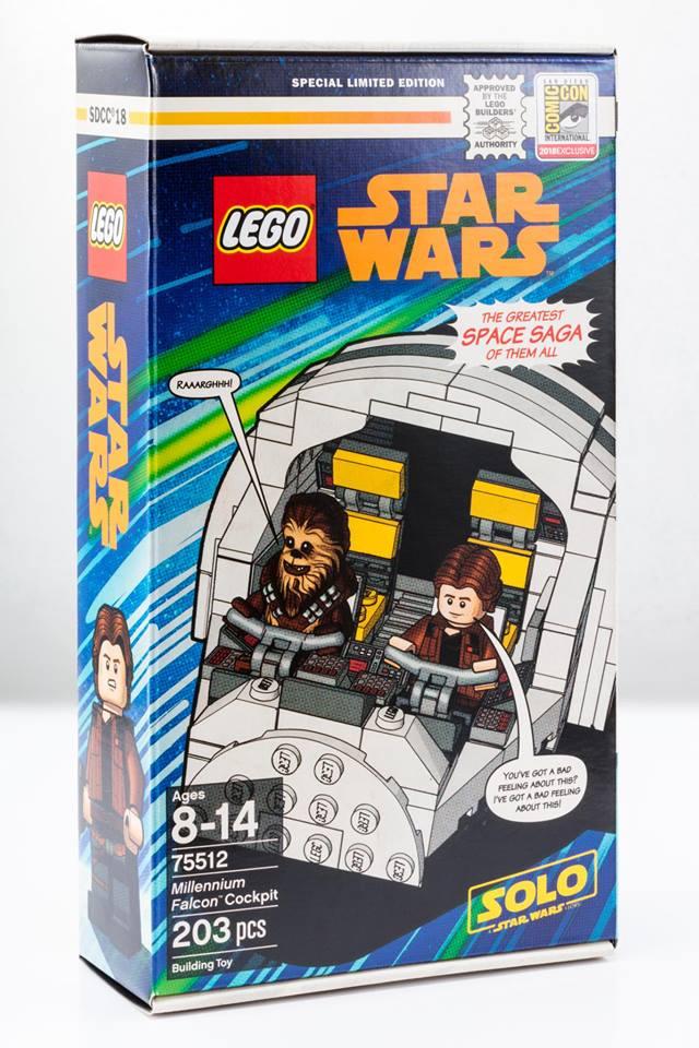 LEGO Star Wars 75512 Millennium Falcon Cockpit 1