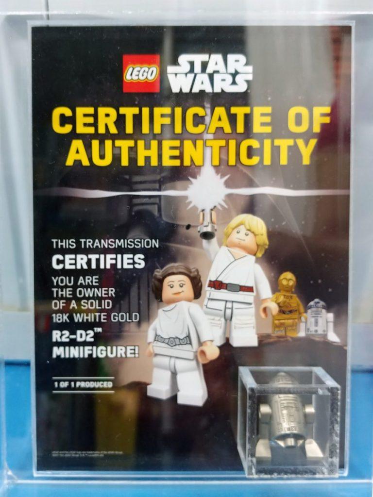 LEGO Star Wars Gold R2 D2