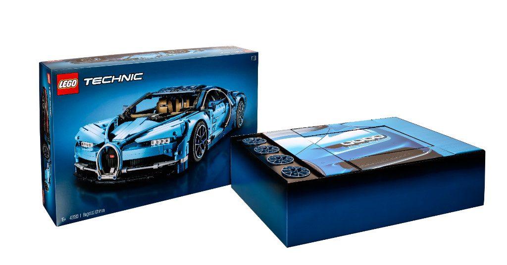 LEGO Technic 42083 Bugatti Chiron Box 2
