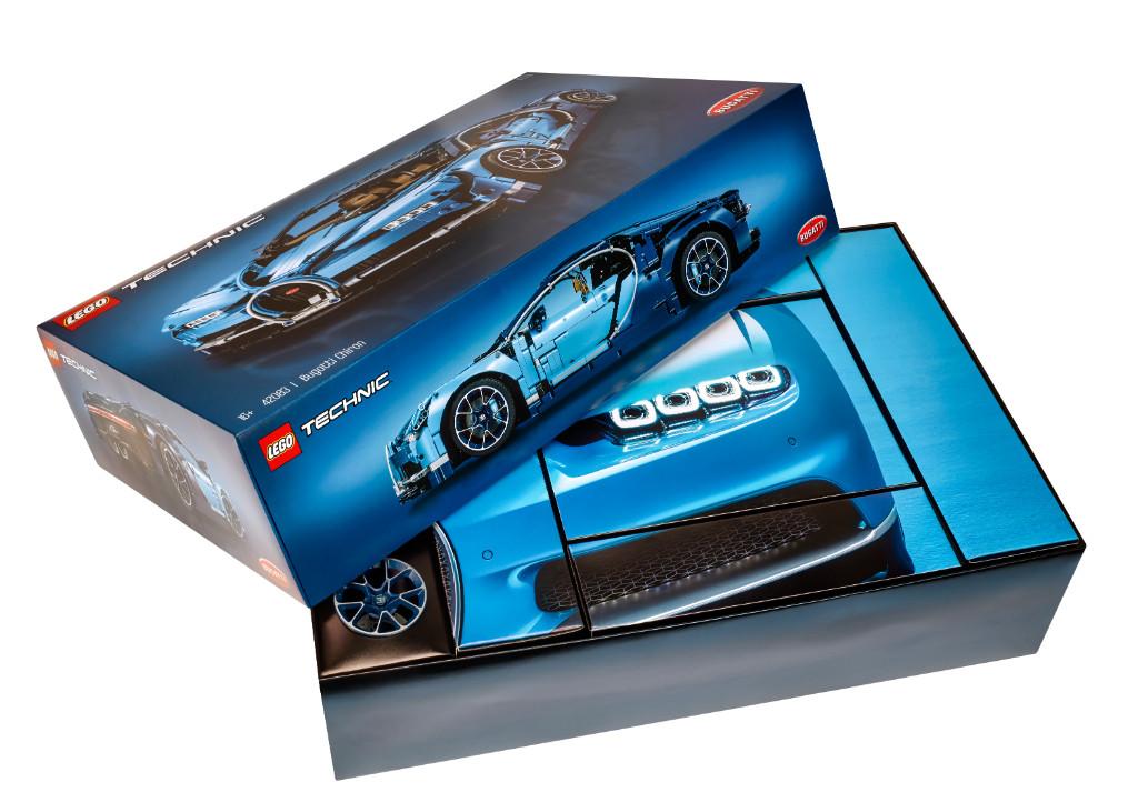 LEGO Technic 42083 Bugatti Chiron Box 3
