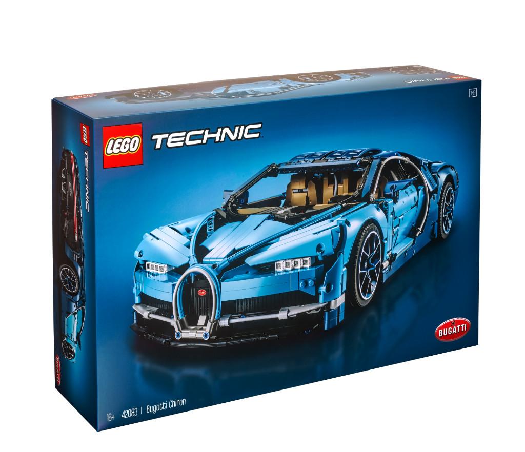 LEGO Technic 42083 Bugatti Chiron Box 4