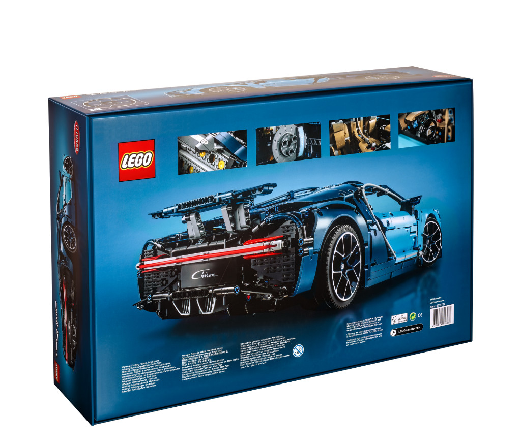 LEGO Technic 42083 Bugatti Chiron Box 5