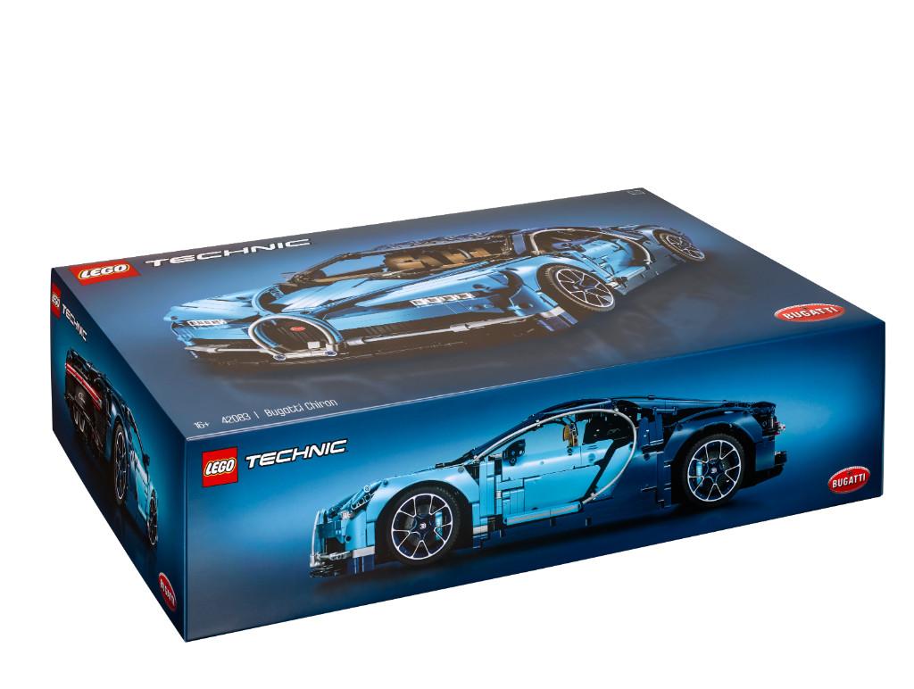 LEGO Technic 42083 Bugatti Chiron Box 6