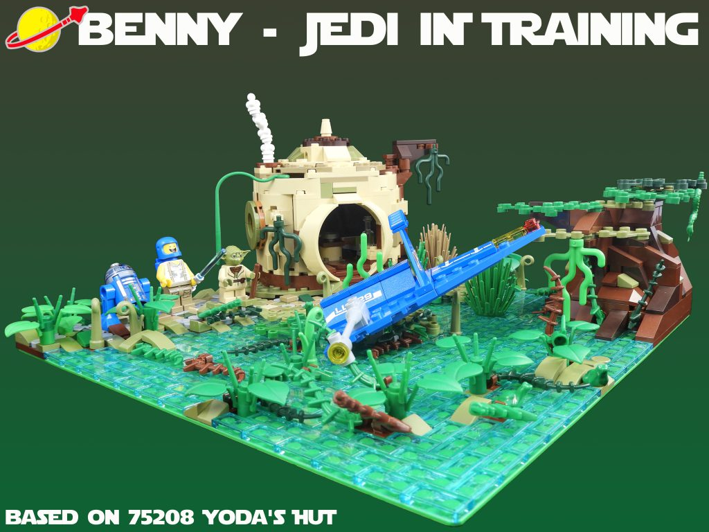 Benny Jedi In Training 1024x768