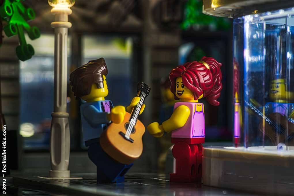 Brick Pic Guitar