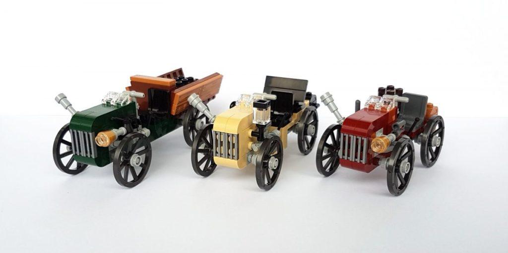 Brick Pic Olde Cars