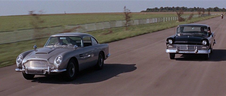 James Bond Aston Martin DB 5 Goldfinger