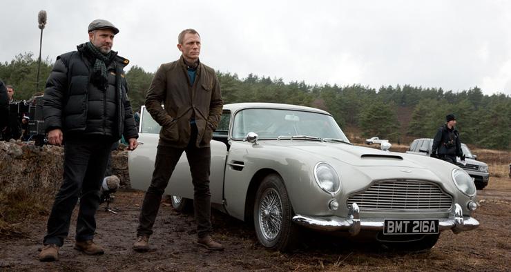 James Bond Aston Martin DB 5 Skyfall 2