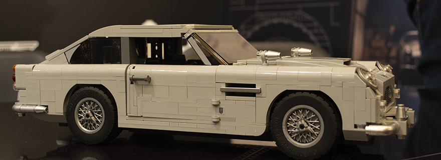LEGO Store James Bond Aston Martin launch featured 2