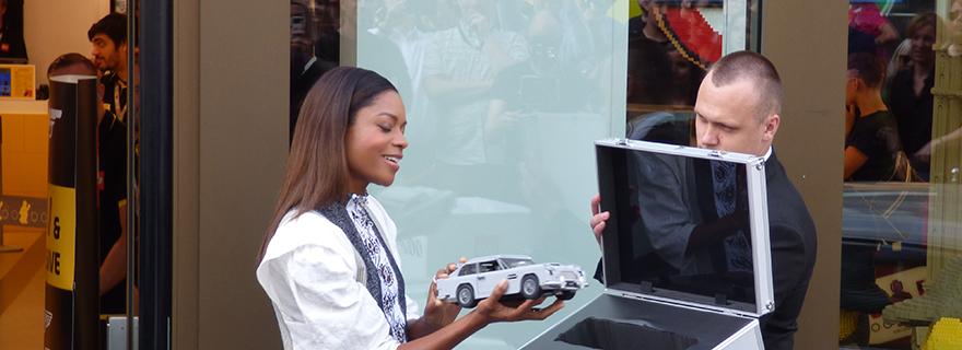 LEGO Store James Bond Aston Martin Launch Featured