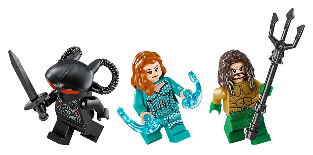 LEGO 76095 Black Manta Strike 2
