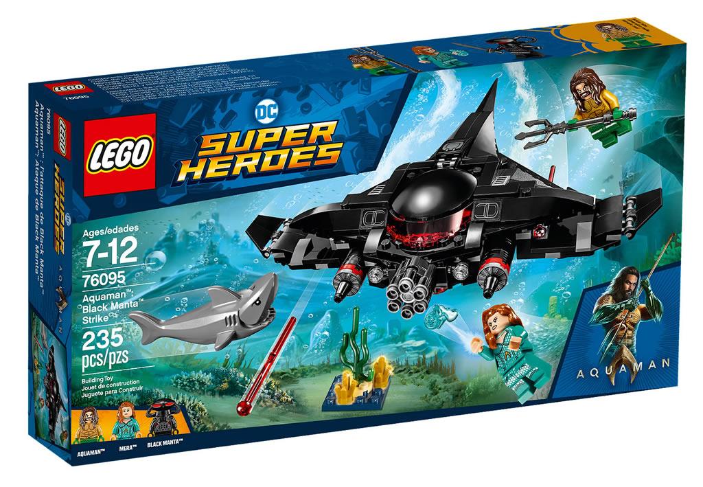 LEGO 76095 Black Manta Strike 3