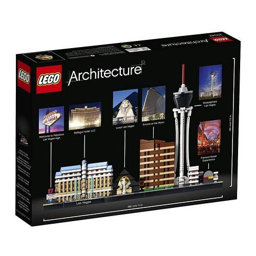 LEGO Architecture 21047 Las Vegas 2