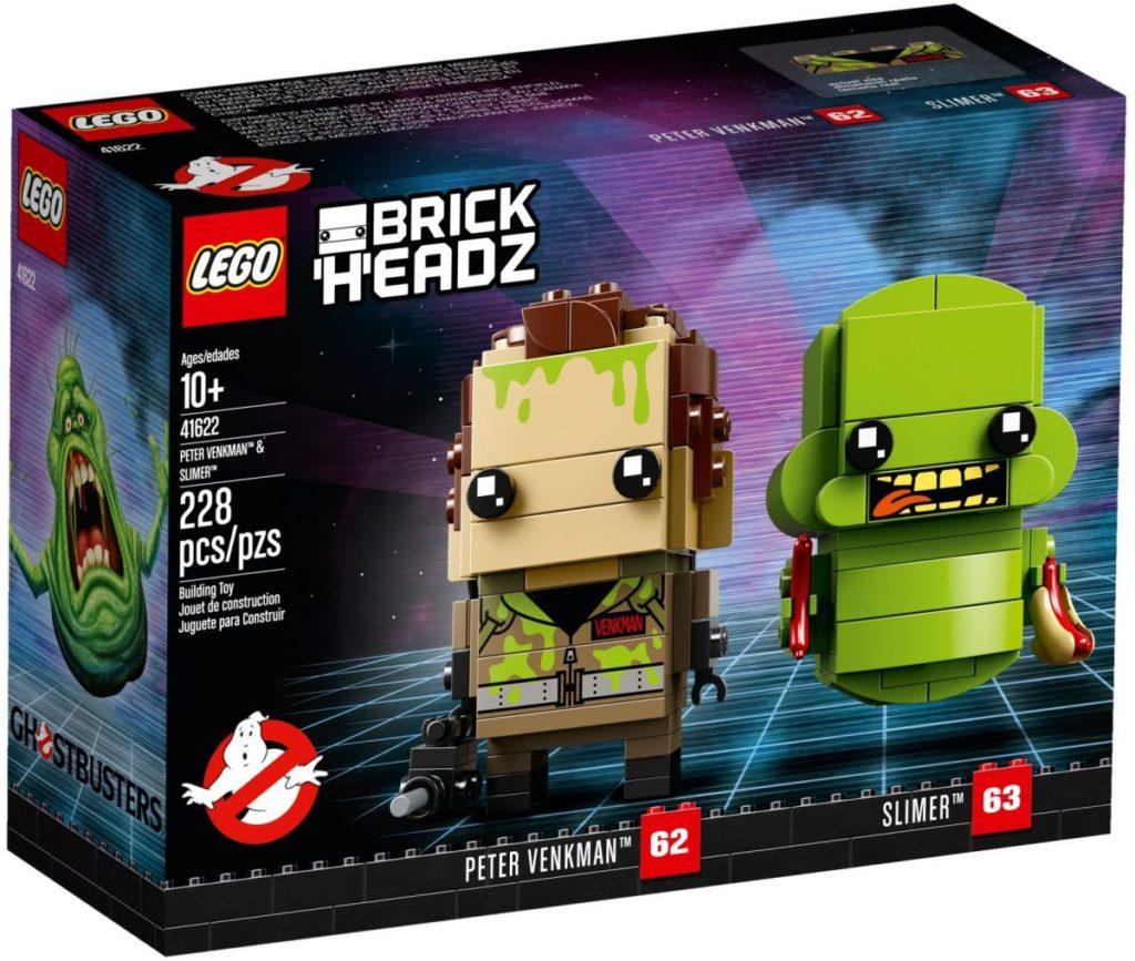 LEGO BrickHeadz 41622 Peter Venkman Slimer 2