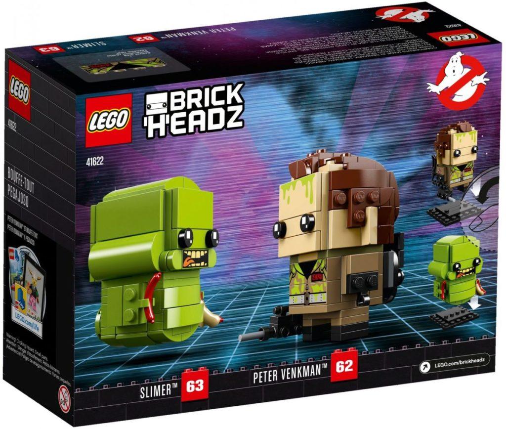 LEGO BrickHeadz 41622 Peter Venkman Slimer 4