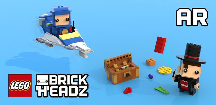 LEGO Brick Headz Builder AR