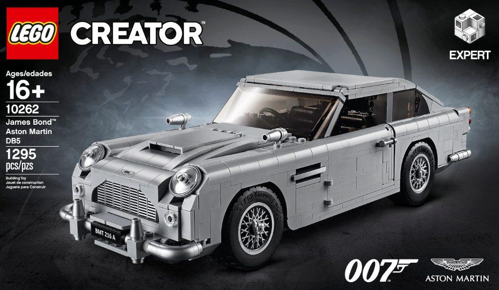 LEGO Creator Exerpt 10262 James Bond Aston Martin DB5 18