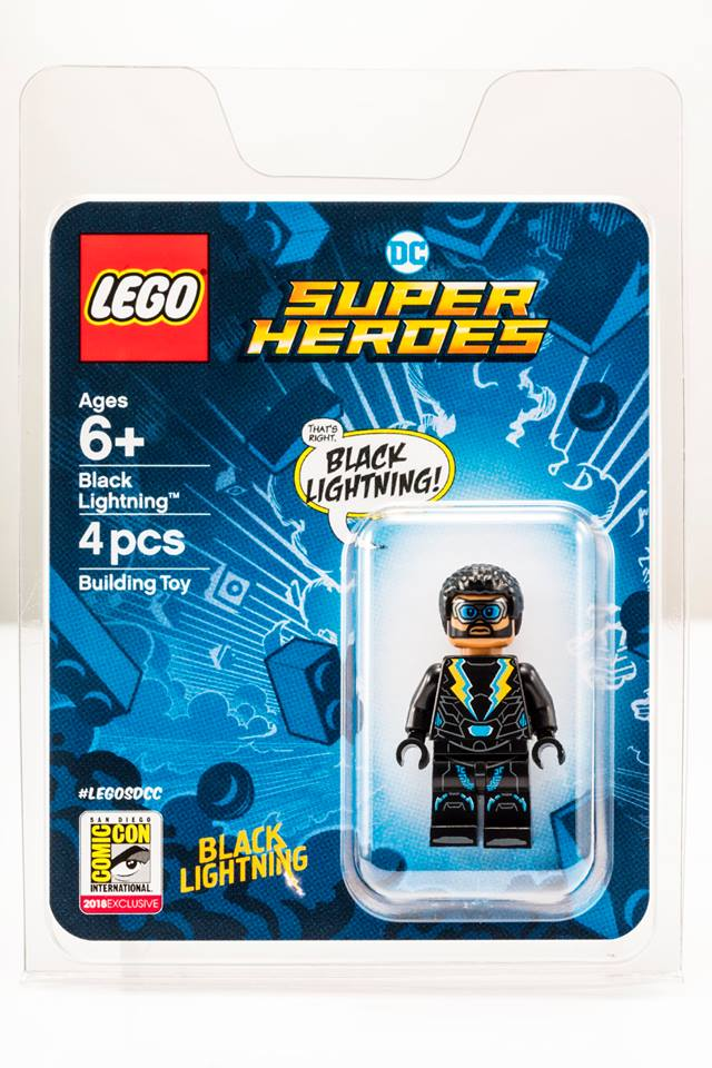 LEGO DC Super Heroes Black Lightning 1