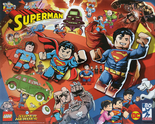 LEGO DC Superman Poster