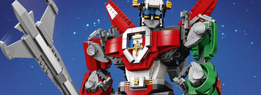 LEGO Ideas 21311 Voltron Featured 3