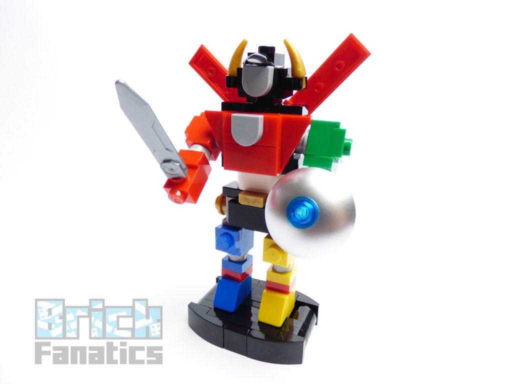 Mini LEGO Ideas 21311 Voltron build instructions