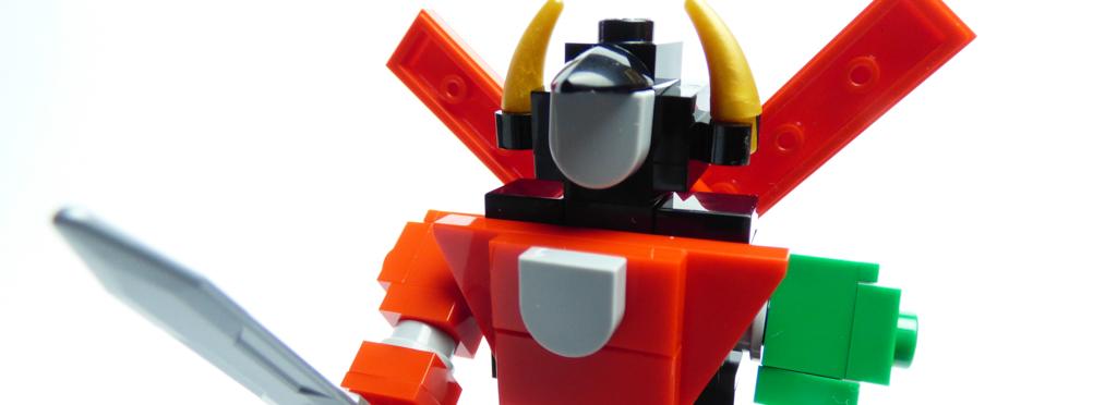 LEGO Ideas Voltron Mini Featured 1