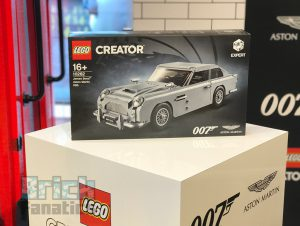 LEGO James Bond Aston Martin DB5 Launch 2 300x226