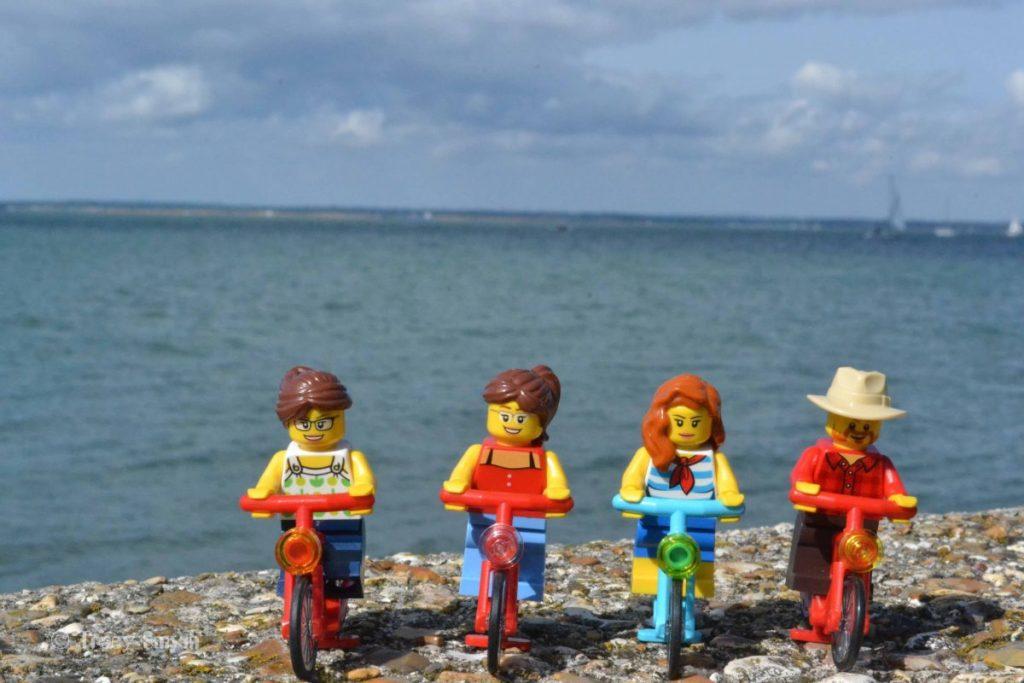 Brick Pic Minifigure Bikes