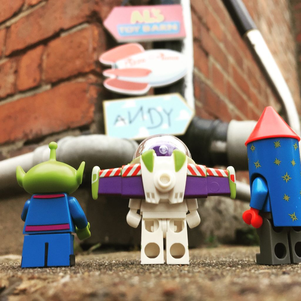 Brick Pic Toy Story