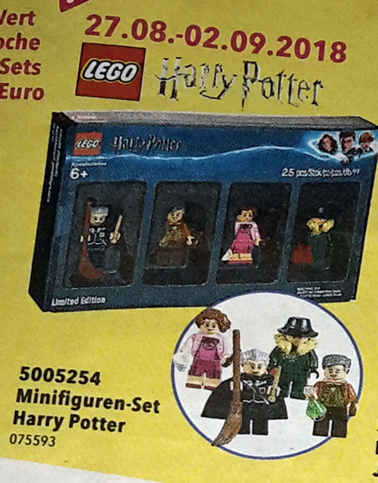 Four More Lego Harry Potter Minifigures Coming In Bricktober Set