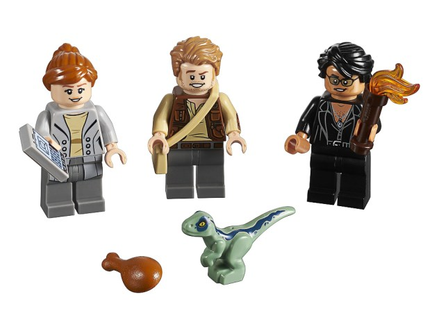 LEGO 5005255 Jurassic World Minifigures 3