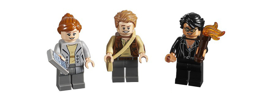 LEGO 5005255 Jurassic World minifigures featured