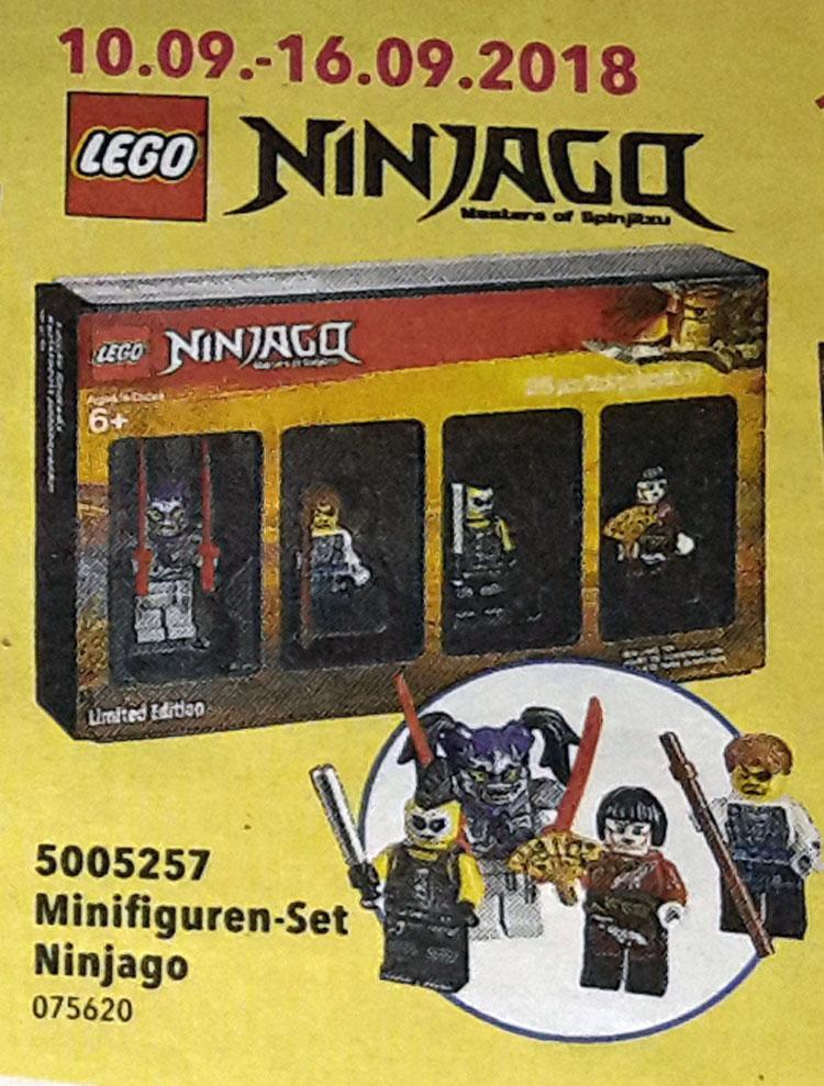 LEGO 5005255 NINJAGO Minifigures