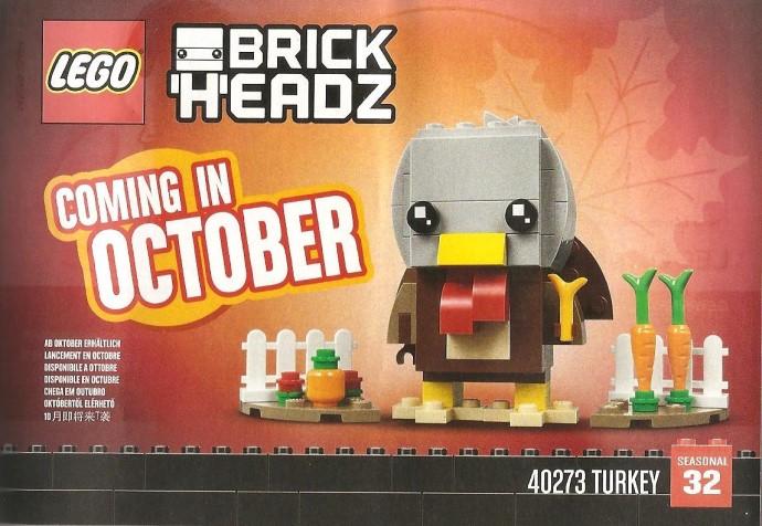 LEGO BrickHeadz 40273 Turkey