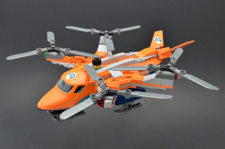 LEGO City 60193 Arctic Air Transport 10 768x509