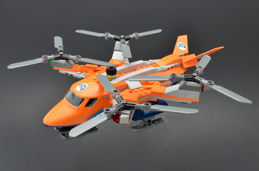 LEGO City 60193 Arctic Air Transport 10