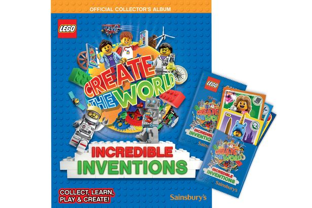 LEGO Create The World Incredible Inventions Album