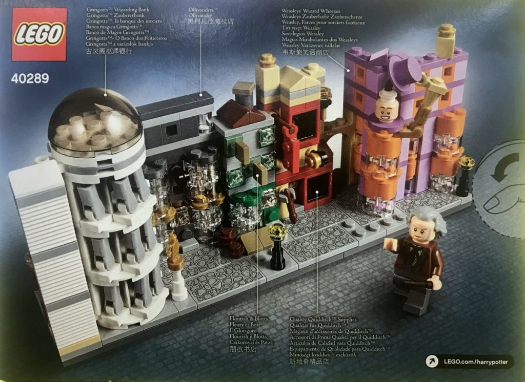 LEGO Harry Potter 40289 Diagon Alley 3
