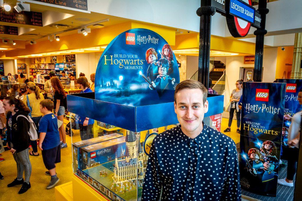 LEGO Harry Potter Hogwarts Castle Justin Ramsden Signing 6 1024x683