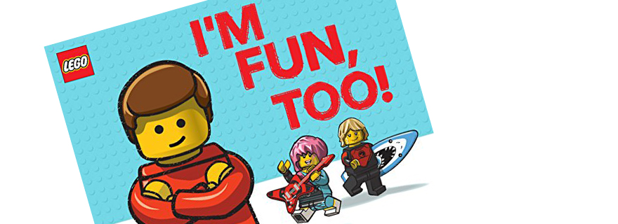LEGO Im Fun Too Featured