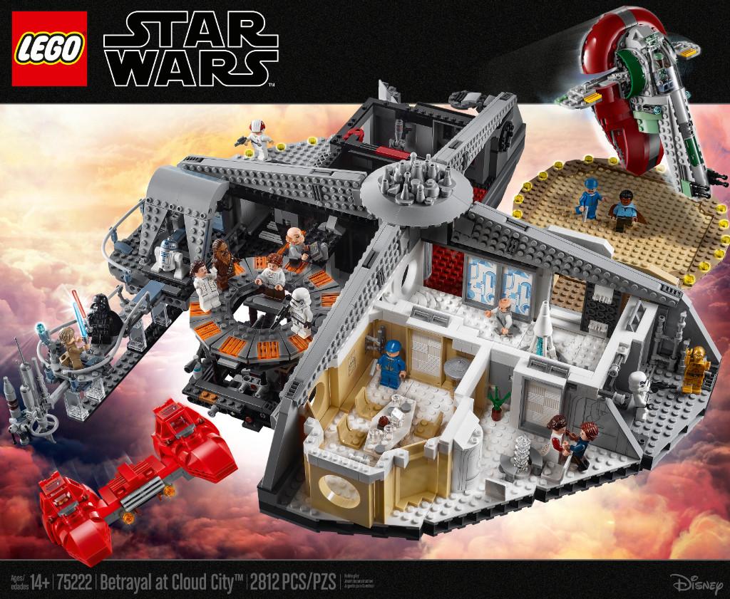 LEGO Star Wars 75222 Betrayal At Cloud City 35