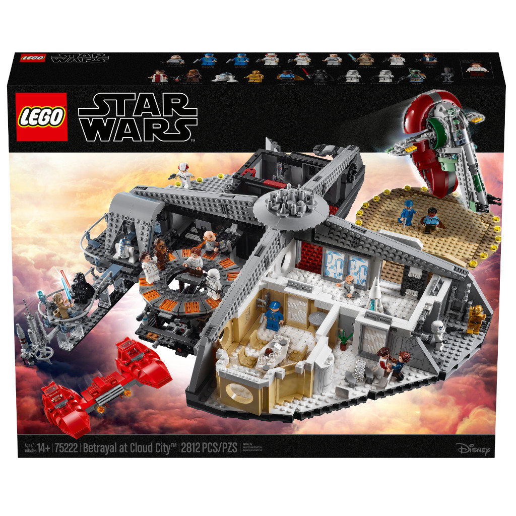 LEGO Star Wars 75222 Betrayal At Cloud City 36