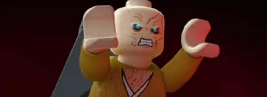 LEGO Star Wars Snoke Animated