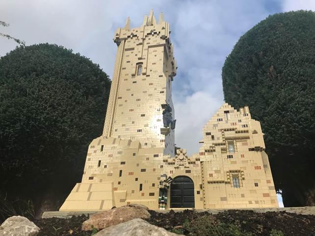 LEGOLAND Wallace Monument 1