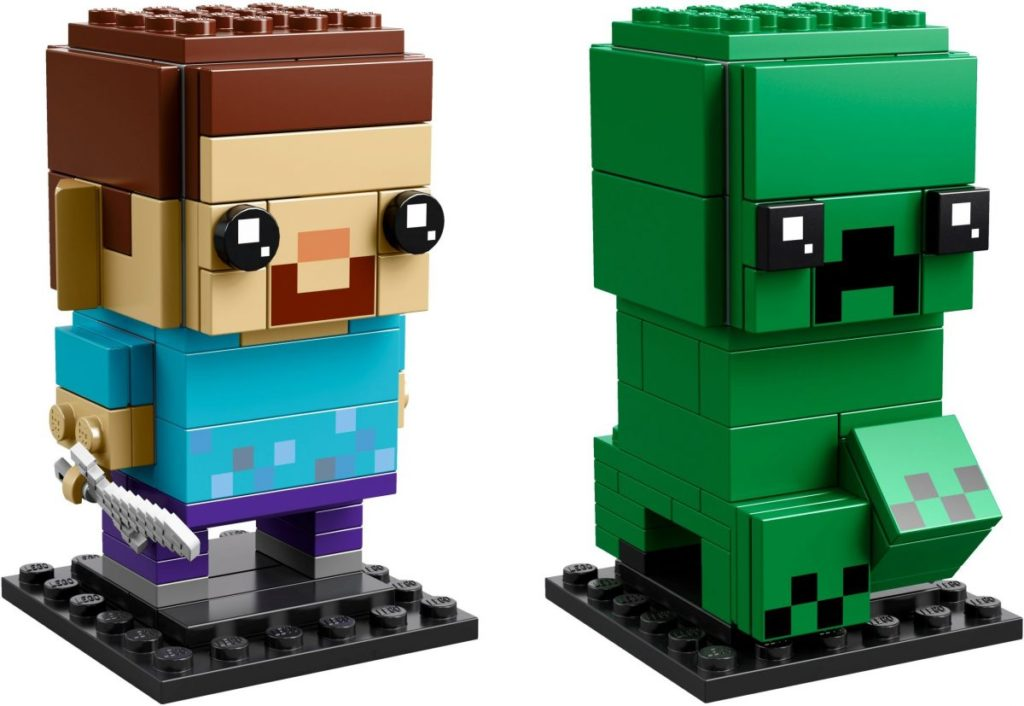New Lego Minecraft Sets Launch Today