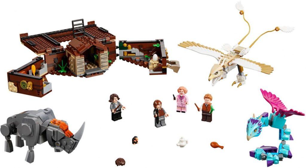 LEGO Fantastic BEasts 75952 Newts Case Magical Creatures