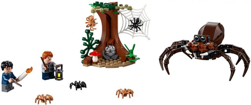 LEGO Harry Potter 75950 Aragogs Lair