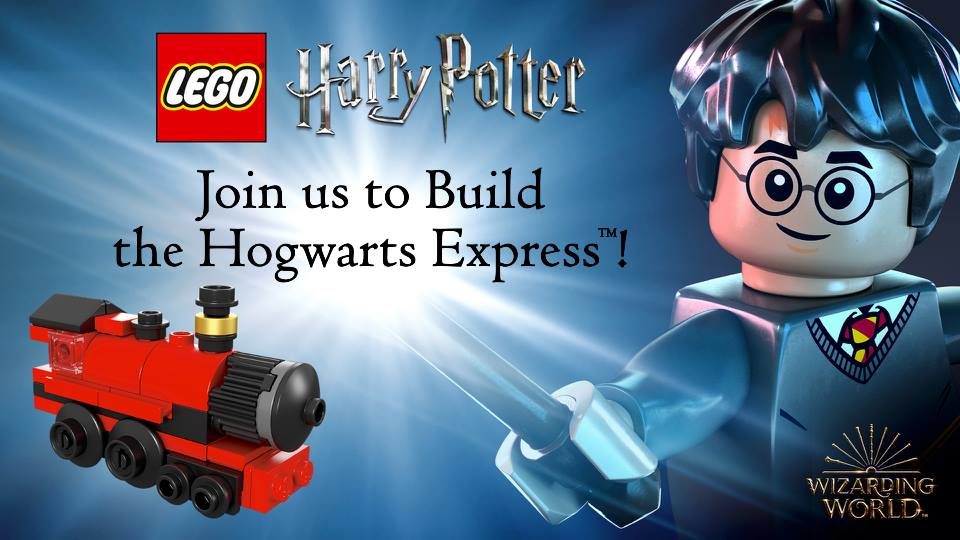 LEGO Harry Potter Barnes Noble Build